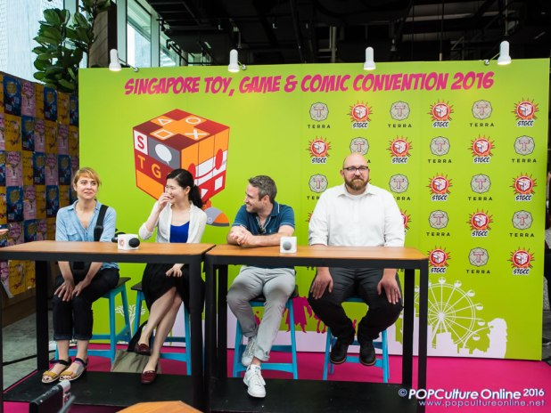 STGCC 2016 Media Preview Nick Spencer, Emma Rios, Hwei Lim Jon-Paul Kaiser