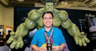 STGCC 2016 POPCulture Online Editor Note Kenneth Wong Tokidoki x STGCC Lanyard