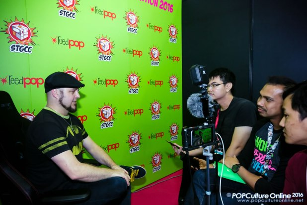 STGCC 2016 Tom Taylor Interview