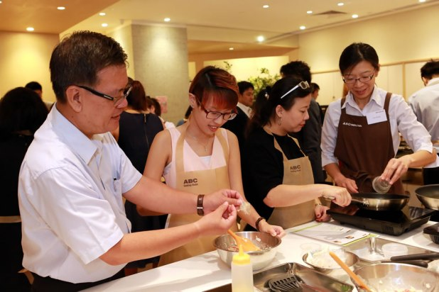 Food Japan 2016 Media Conference Cooking Session
