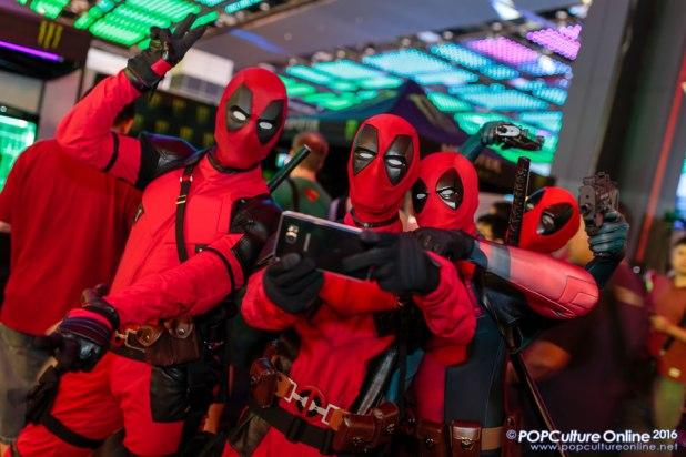 GameStart 2016 Cosplayers Deadpool