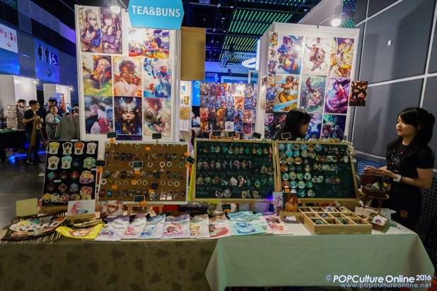 GameStart 2016 Doujin Market Booths