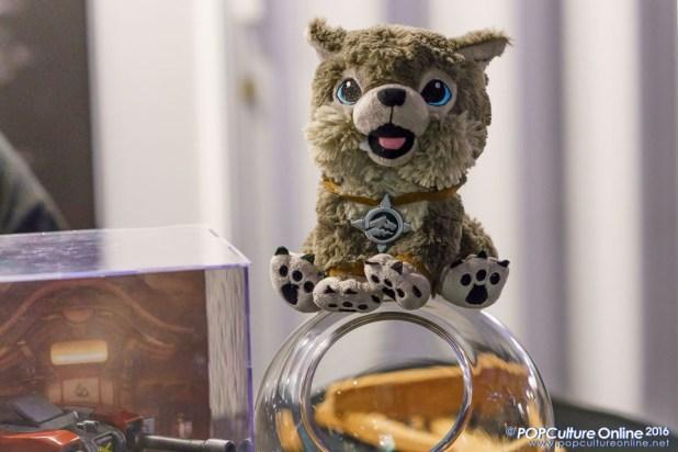 GameStart 2016 Frostwolf Cub Plush Neo Tokyo Project Booth