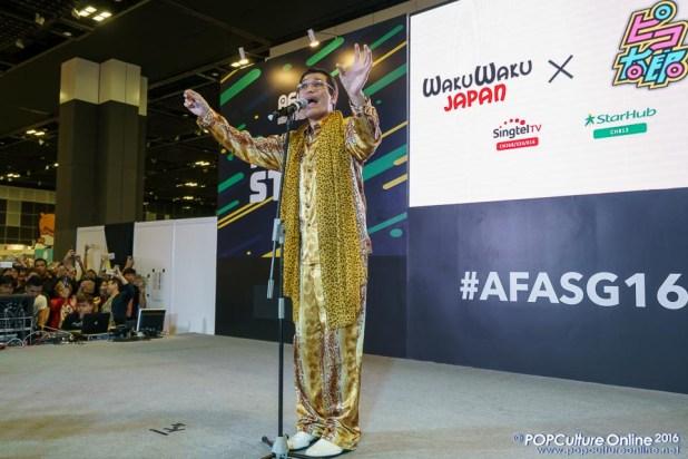 AFASG 2016 WAKUWAKU JAPAN PPAP Pikotaro