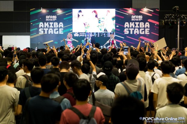 Anime Festival Asia AFASG 2016 AKIBA Stage