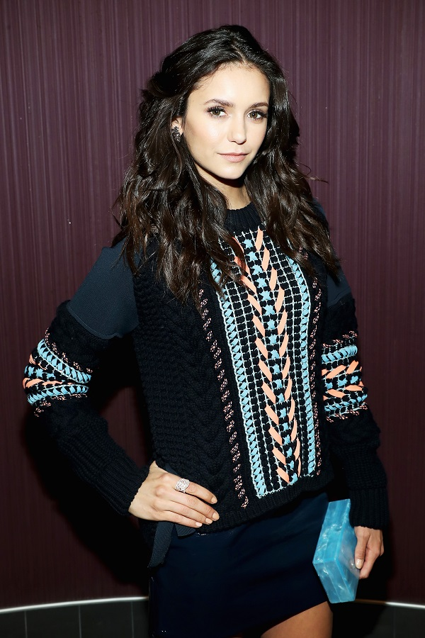"""LOS ANGELES, CA - NOVEMBER 12: Actress Nina Dobrev attends the LA screening of the Paramount Pictures title """"xXx: the Return of Xander Cage"""" at Regal LA Live Stadium 14 on November 12, 2016 in Los Angeles, California. (Photo by Jonathan Leibson/Getty Images for Paramount Pictures International) *** Local Caption *** Nina Dobrev"""