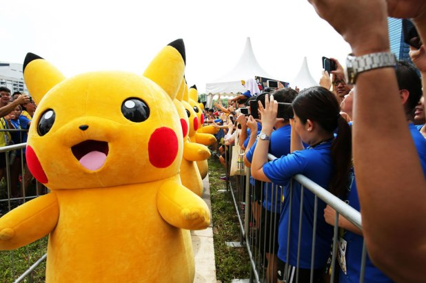 Pokémon Run Singapore 2017 Pikachu Parade