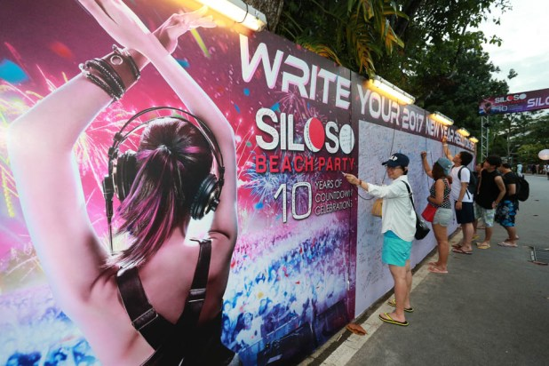 Siloso Beach Party (SBP) 2016 - Resolution Board