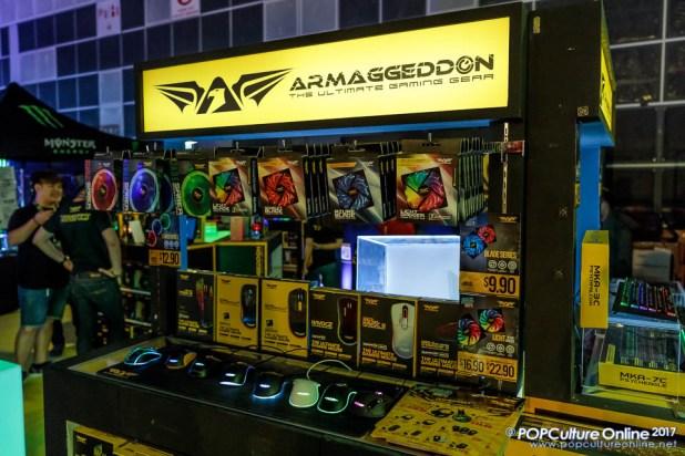 GameStart 2017 Armaggeddon Gaming Mouse Casing Fan
