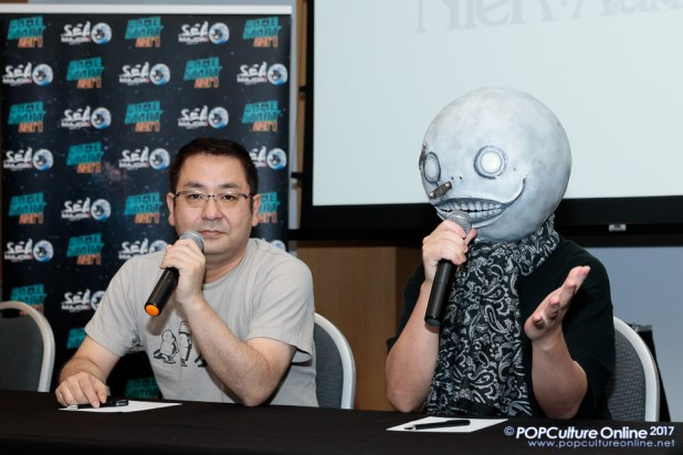 GameStart 2017 Interview Nier Automata Director Yoko Taro Producer Saitou Yosuke