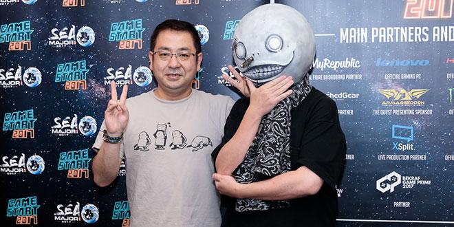 GameStart-2017-Interview-Nier-Automata-Director-Yoko-Taro-Producer-Saitou-Yosuke-Featured-Image