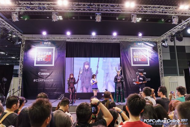 C3 Anime Festival Asia Singapore 2017 Super Akiba Stage Cosplay Guest