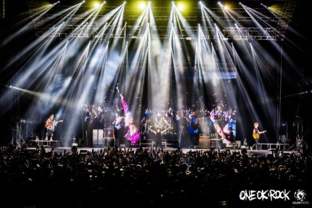ONE OK ROCK Ambition Asia Tour Singapore Concert Photo 02