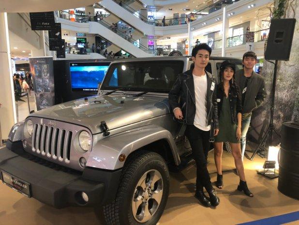 Jeep Wrangler Sahara Display