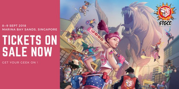 Singapore Toy Game Comic Convention STGCC 2018 Web Banner