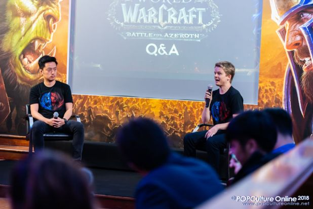 World of Warcraft Battle for Azeroth Pre-launch Party Singapore John Yang Johnny Cash 01