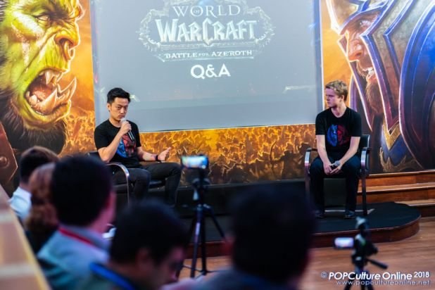 World of Warcraft Battle for Azeroth Pre-launch Party Singapore John Yang Johnny Cash