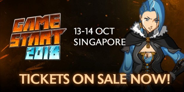 GameStart 2018 Web Banner