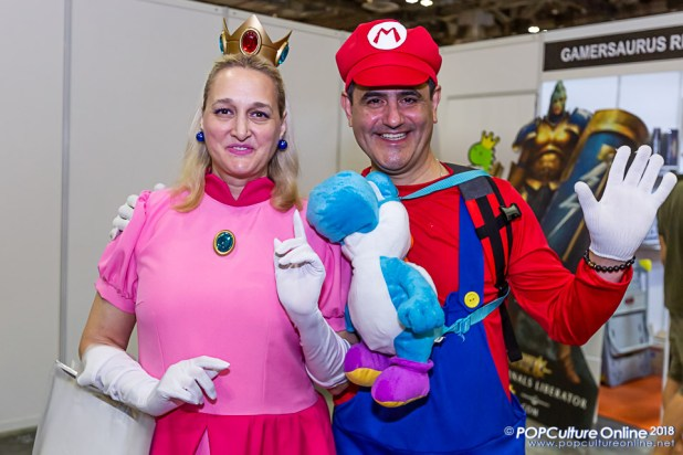 STGCC 2018 Event Cosplay Mario