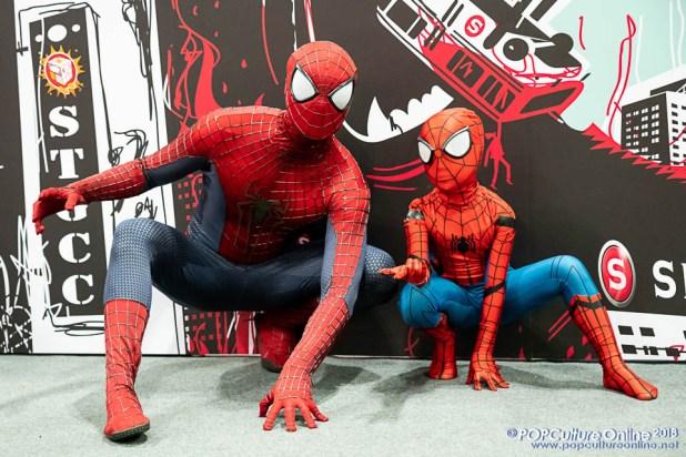 STGCC 2018 Event Cosplay Spider-Man