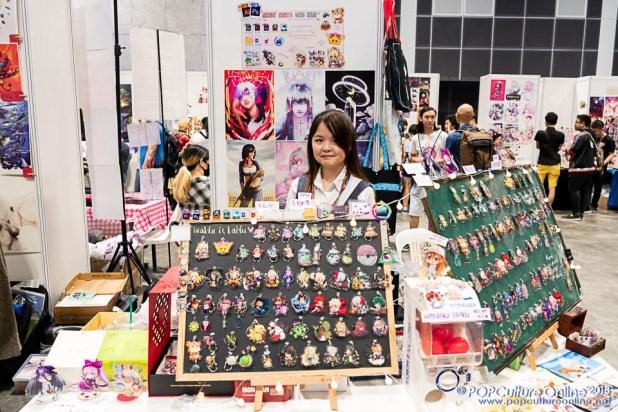 GameStart 2018 Doujin Market Tea & Buns Art