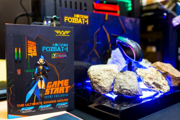 GameStart 2018 Media Conference - GameStart X Armaggeddon Gaming Mouse