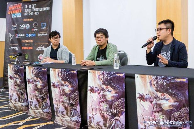 GameStart 2018 Monster Hunter World Kaname Fujioka Yuya Tokuda