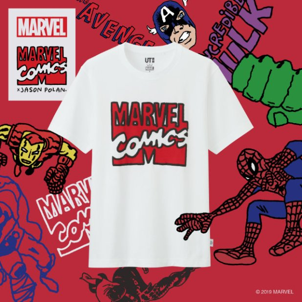 MARVEL X JASON POLAN UT Collection Marvel Print
