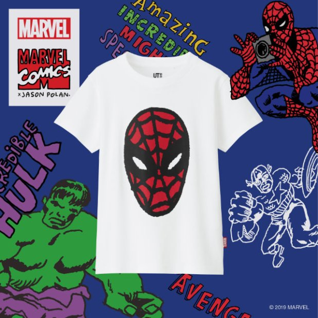 MARVEL X JASON POLAN UT Collection Spider-Man Print