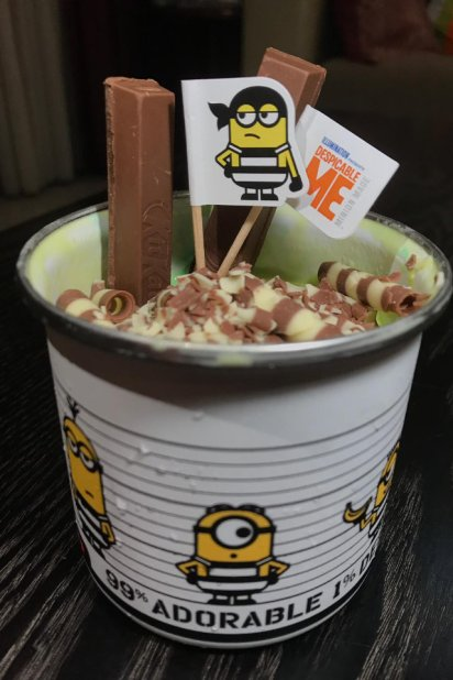 Cold Stone Creamery Limited Edition Minions Collectable Cup 02