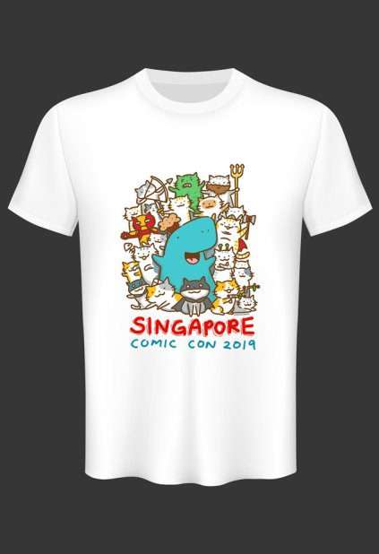 SGCC 2019 Exclusive T-shirt Muffinsaurs