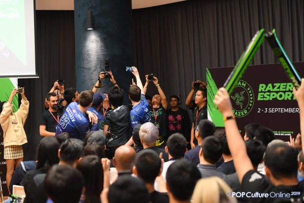 Team Evil Geniuses Fan Meet-And-Greet Team Razer Singapore