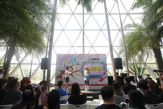 C3AFASG 2019 Media Conference Enako Celebrity Cosplayer Sharing her thoughts