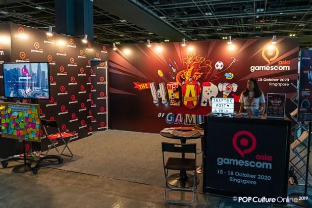 GameStart 2019 Gamescom Asia Booth