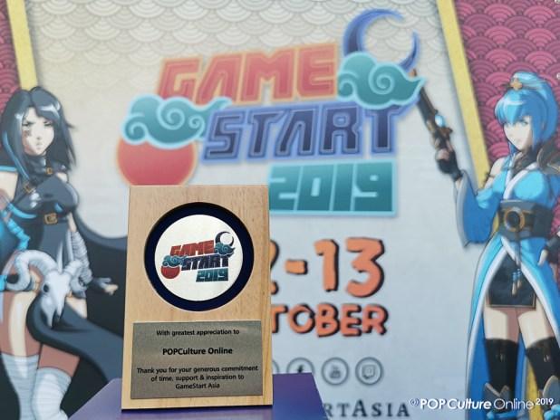 Gamestart Asia X POPCulture Online Thank You