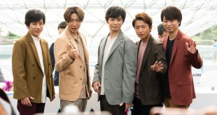 Arashi Jet Storm Singapore Fan Meet Press Conference