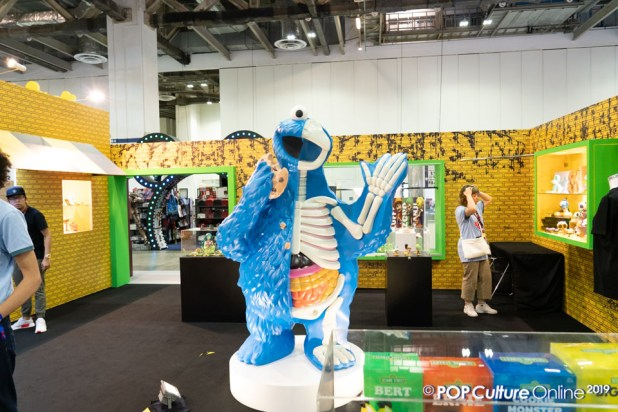 Singapore Comic Con SGCC 2019 Mighty Jaxx Sesame Street Cookie Monster