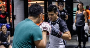 Evolve MMA Drian Francisco