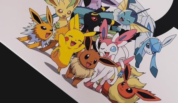 Omnidesk Pokemon Collection Evolution