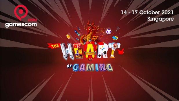 gamescom asia 2021 key visual