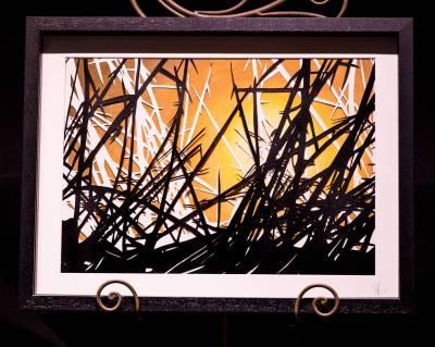 Tangled Sunburst II