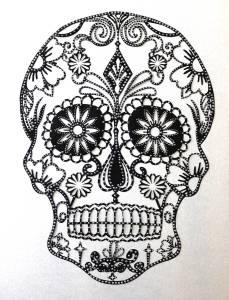 sugar skull embellished detail1
