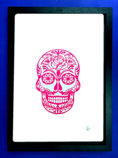 Commission: Personalised sugar skull