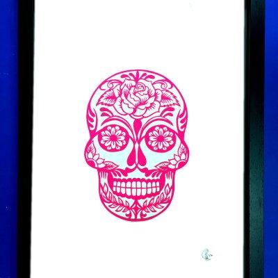 Commission: Personalised sugar skull
