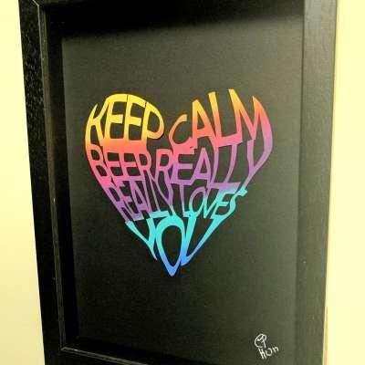 Keep Calm – A4