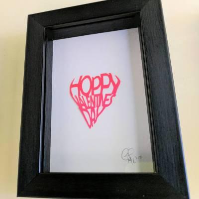 Hoppy Valentines Day – small