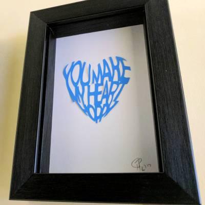 You make my heart hoppy – blue