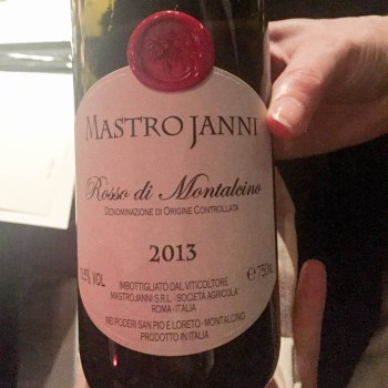 Rosso di Montalcino Mastrojanni