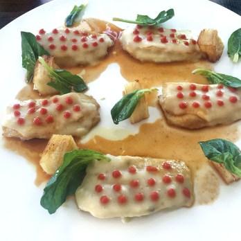 Ristorante Nostrano - Pesaro - Chef Stefano Ciotti Sogliola in potacchio, crema di patate arrosto