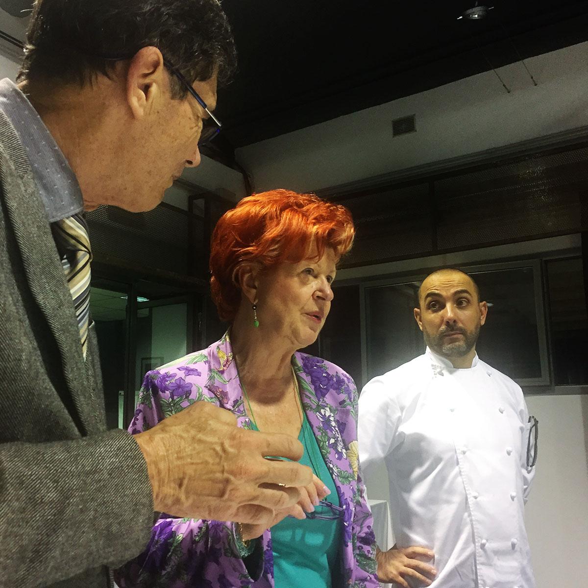 Annie Féolde, Riccardo Monco